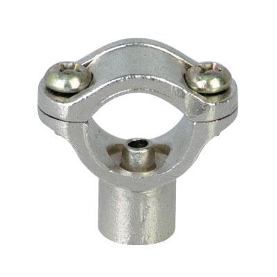 Abrazadera corta para tubo de 1 2 rosca hembra 1 4 - Abrazaderas para tubos ...